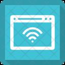 Wifi Webpage Icon