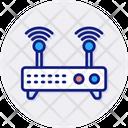 Wifi Zone Internet Network Icon
