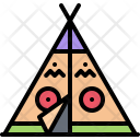 Wigwam Indian Camp Icon