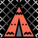 Wigwam Culture Civilization Icon