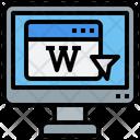 Wikipedia Education Encyclopedia Icon