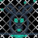 Wild Wooded Rabbit Icon