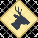 Wild Animals Sign Icon