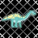 Wild Cartoon Dinosaur Icon