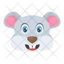 Wild Rat Smiling Icon