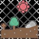 Wilderness Dry Arid Icon