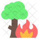 Wildfire Forest Fire Icon