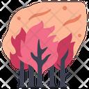 Smoke Environment Wildfire Icon