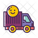 Willing To Relocate Truck Icon