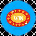 Win Coin Casino Coin Poker Chip Icon