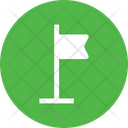 Win Victory Flag Icon