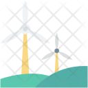 Wind Energy Power Icon