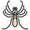 Wind Scorpion Insect Icon