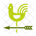 Wind Weather Cock Icon