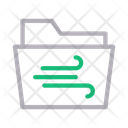 Wind Folder Directory Icon