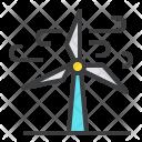Wind Turbine Energy Icon