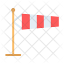 Wind Sock Direction Icon