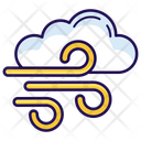Wind Blowing Air Winds Swirls Icon