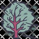 Wind Tree Nature Icon