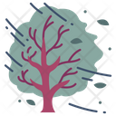 Wind Tree Nature Icon