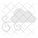 Cloud Strong Winds Icon