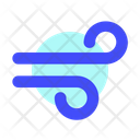 Wind Internet Business Icon