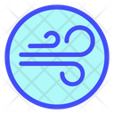 Wind Cloud Weather Icon