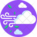 Wind Cloud Forecast Icon
