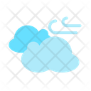 Wind Cloud Blowing Windy Icon