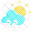 Wind Cloudy Day Icon