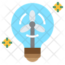 Iwind Wind Energy Green Icon