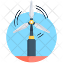 Wind Turbine Windmill Whirligig Icon