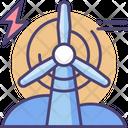 Wind Energy Windmill Wind Farm Energy Icon