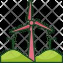 Wind Energy Windmill Wind Turbine Icon