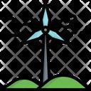 Wind Energy Energy Environment Icon