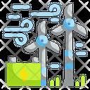 Wind Energy Ecology Environment Icon