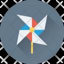 Wind Fan Aerogenerator Icon