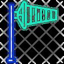 Wind Flag Icon