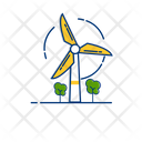 Wind Electricity Energy Icon