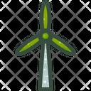 Wind Power Energy Icon