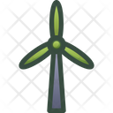 Wind Power Energy Icon