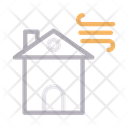 Wind Protection For House Icon
