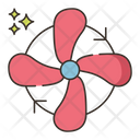 Wind Speed Fan Wind Energy Icon