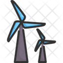 Turbine Power Electricity Icon