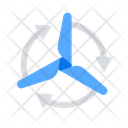 Ecology Wind Generator Icon