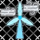 Iwind Wind Turbine Turbines Icon