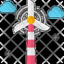 A Wind Turbine Icon