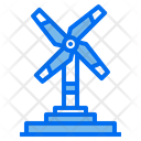 Wind Turbine Energy Power Icon