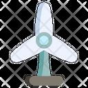 Electricity Wind Renewable Icon