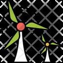 Wind Turbines Icon
